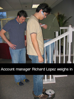Richard Lopez weighs in