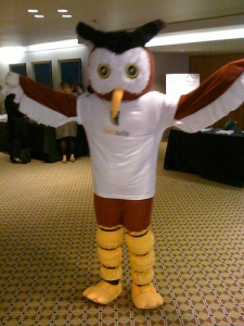 HootSuite's Owly at TWTRCON 09